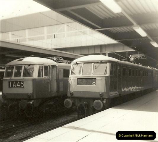 1955 to 1959 British Railways in Black & White.  (65)0065