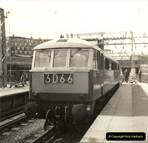 1955 to 1959 British Railways in Black & White.  (66)0066