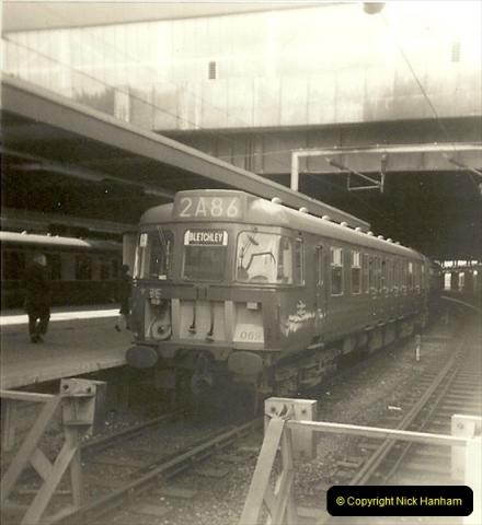 1955 to 1959 British Railways in Black & White.  (67)0067