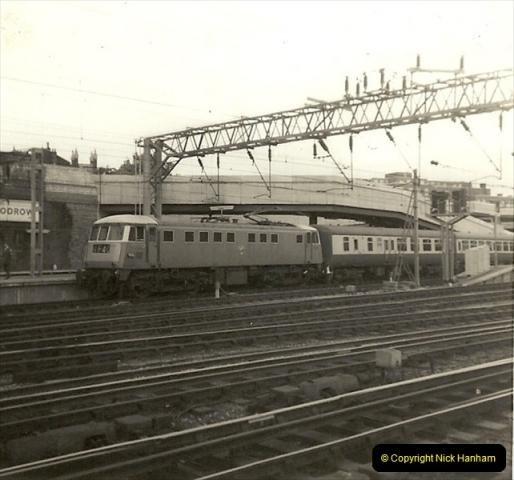 1955 to 1959 British Railways in Black & White.  (68)0068