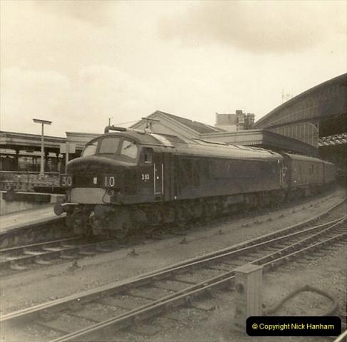 1955 to 1959 British Railways in Black & White.  (69)0069