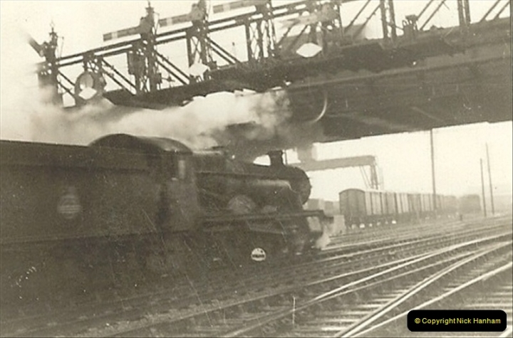 1955 to 1959 British Railways in Black & White.  (7)0007