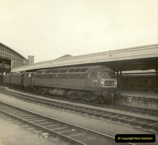 1955 to 1959 British Railways in Black & White.  (70)0070
