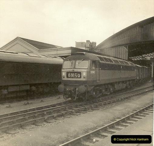 1955 to 1959 British Railways in Black & White.  (71)0071