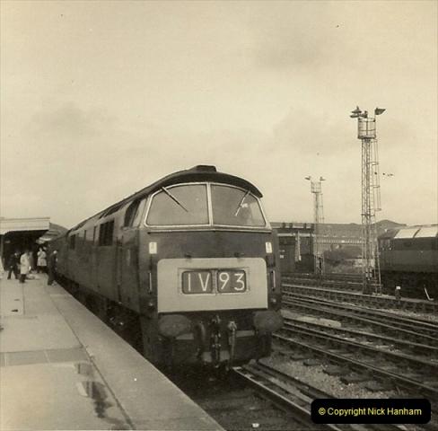 1955 to 1959 British Railways in Black & White.  (72)0072