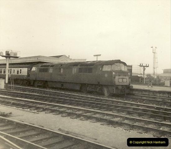 1955 to 1959 British Railways in Black & White.  (73)0073
