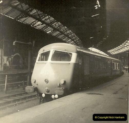 1955 to 1959 British Railways in Black & White.  (74)0074