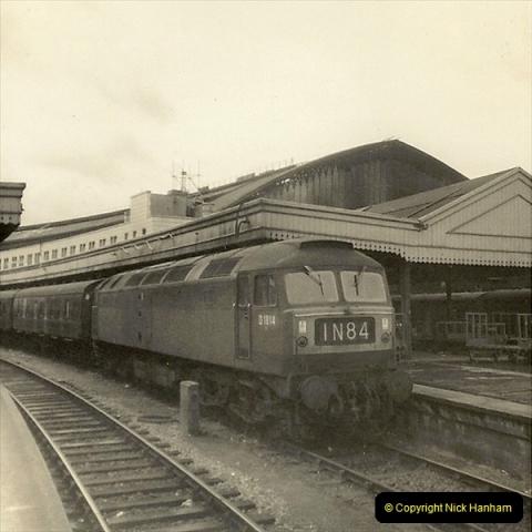 1955 to 1959 British Railways in Black & White.  (76)0076