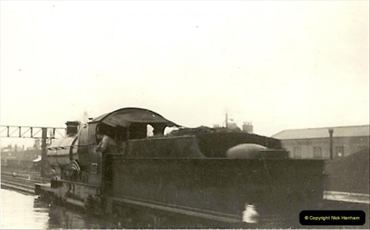 1955 to 1959 British Railways in Black & White.  (8)0008