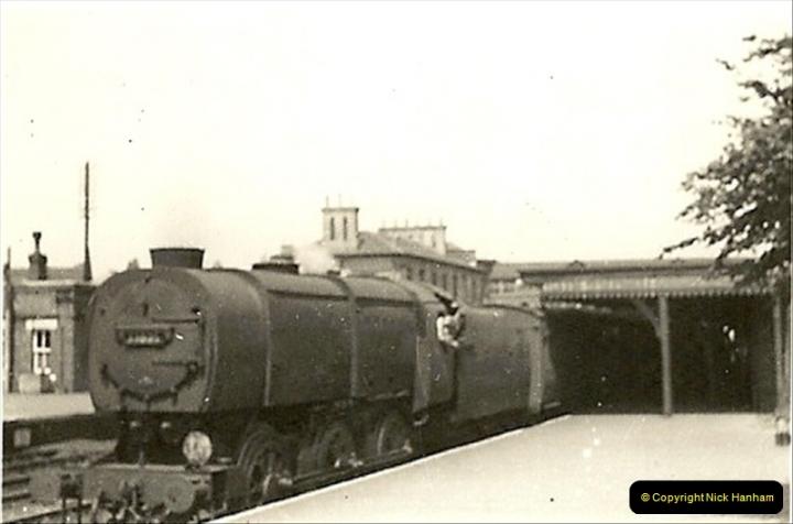 1955 to 1959 British Railways in Black & White.  (9)0009