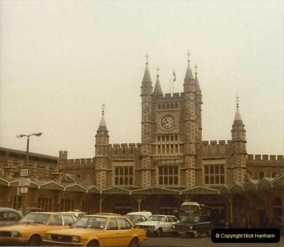 1980 Spring. Bristol Temple Meads, Bristol.  (1)0249