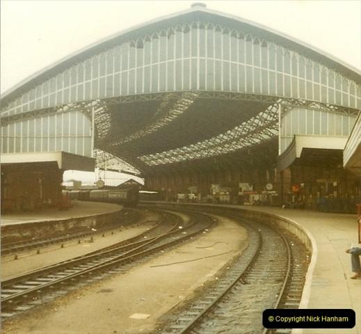 1980 Spring. Bristol Temple Meads, Bristol.  (2)0250