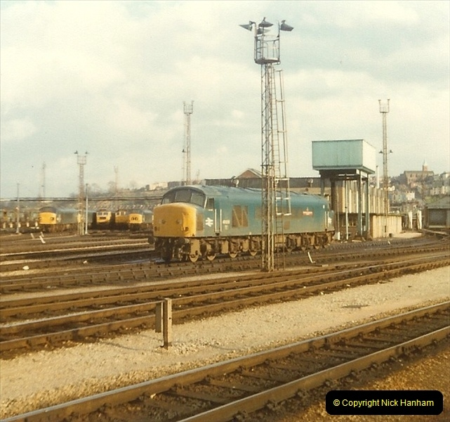 1980 Spring. Bristol Temple Meads, Bristol.  (4)0252