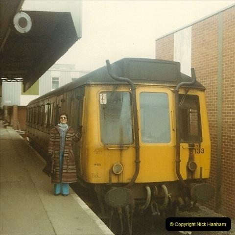 1980 Spring. Bristol Temple Meads, Bristol.  (5)0253