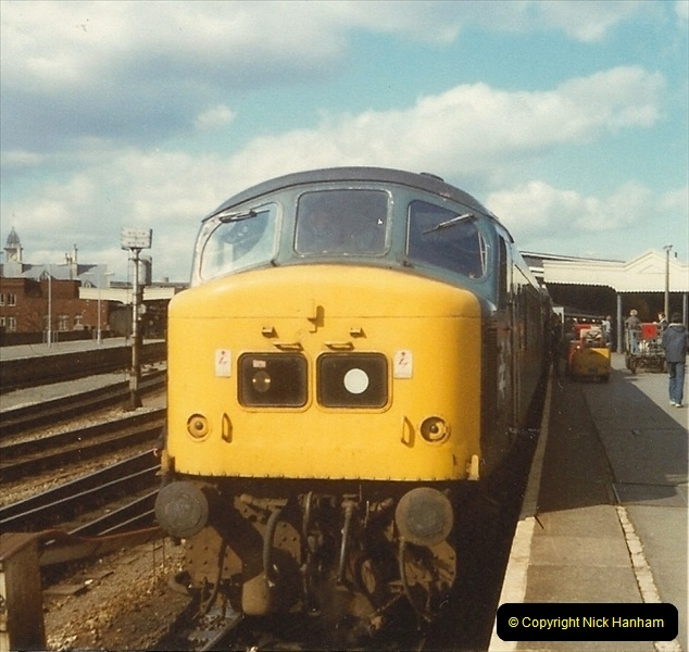 1980 Spring. Bristol Temple Meads, Bristol.  (9)0257