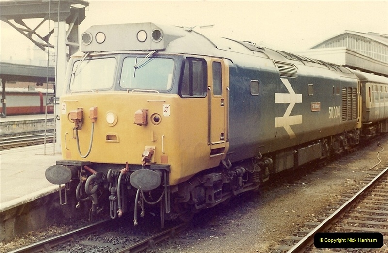1981-03-28 to 29 Bristol Temple Meads, Bristol.  (1)0259
