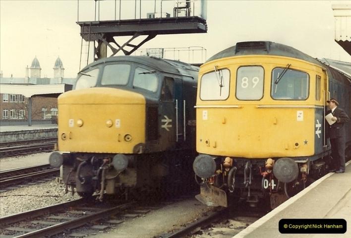 1981-03-28 to 29 Bristol Temple Meads, Bristol.  (2)0260