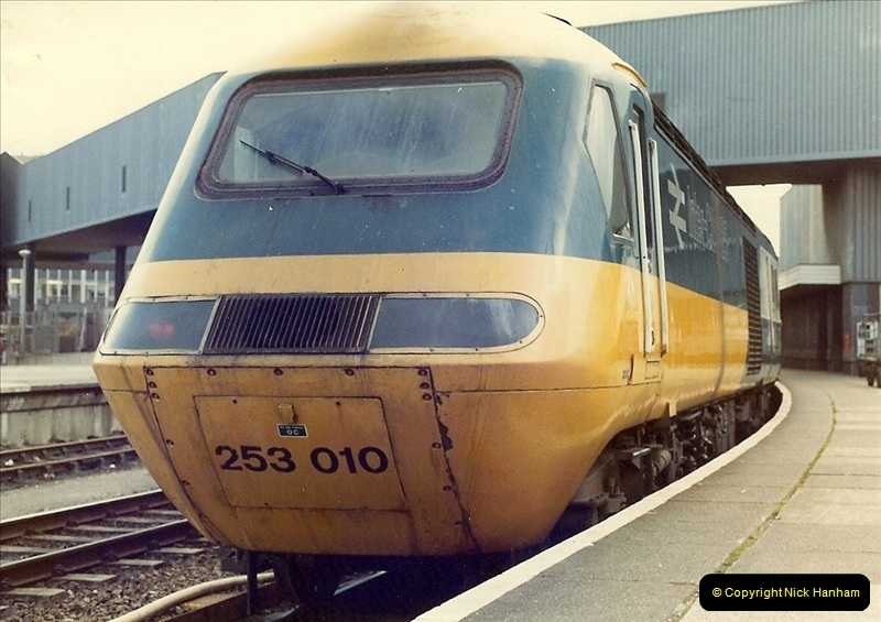 1981-03-28 to 29 Bristol Temple Meads, Bristol.  (3)0261