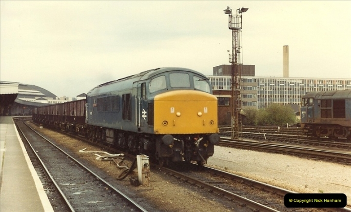 1981-03-28 to 29 Bristol Temple Meads, Bristol.  (4)0262