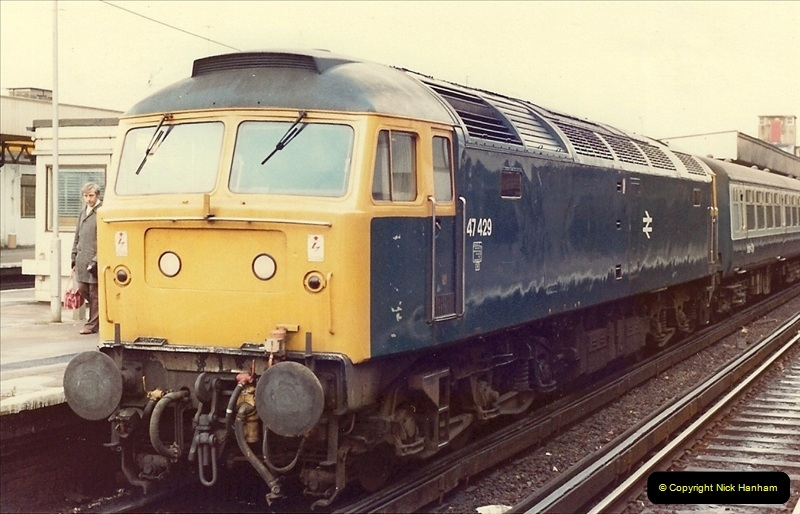 1981-04-25 The Solent Express to North Wales & Chester, Cheshire.  (1)0272