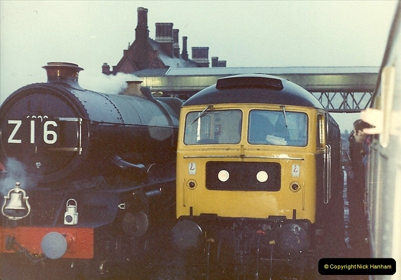 1981-04-25 The Solent Express to North Wales & Chester, Cheshire.  (12)0283