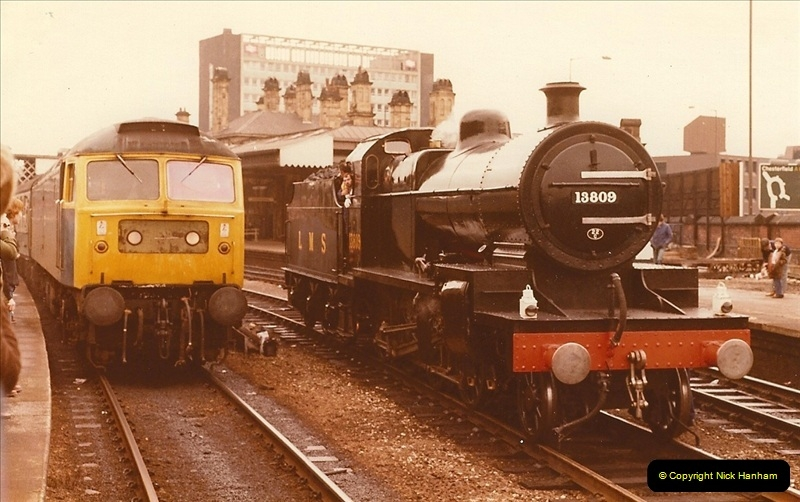 1981-10-24 The Southern Knight to York & The North East.  (1)0284