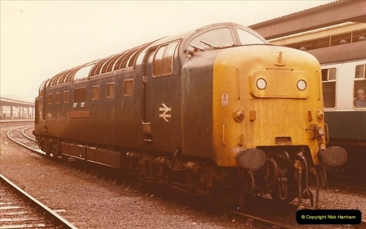 1981-10-24 The Southern Knight to York & The North East.  (11)0294