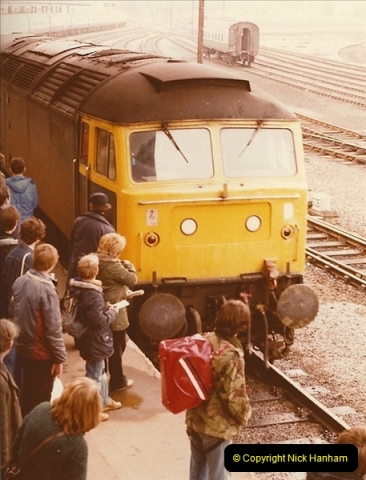 1981-10-24 The Southern Knight to York & The North East.  (15)0298