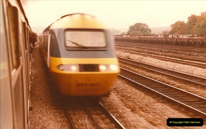 1981-10-24 The Southern Knight to York & The North East.  (18)0301