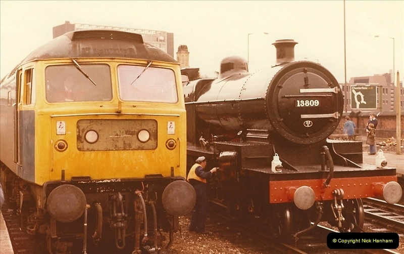 1981-10-24 The Southern Knight to York & The North East.  (2)0285