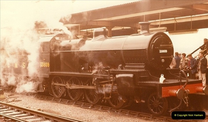1981-10-24 The Southern Knight to York & The North East.  (6)0289