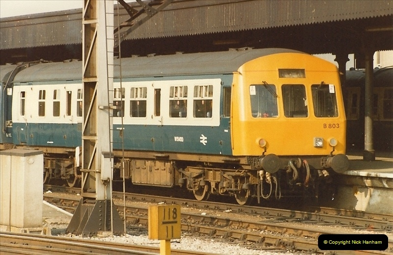 1982-03 26 to 27 Bristol Temple Meads, Bristol.  (12)0334