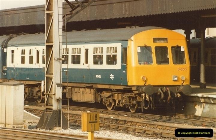 1982-03 26 to 27 Bristol Temple Meads, Bristol.  (12)0334