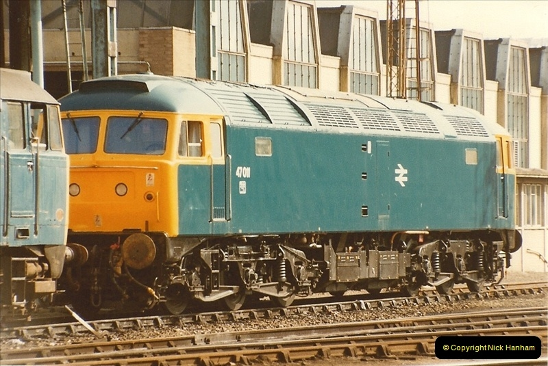 1982-03 26 to 27 Bristol Temple Meads, Bristol.  (13)0335