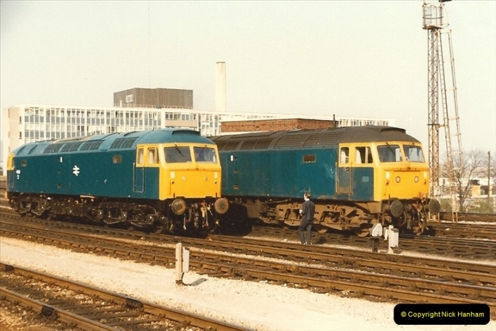 1982-03 26 to 27 Bristol Temple Meads, Bristol.  (14)0336