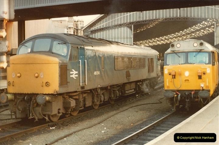 1982-03 26 to 27 Bristol Temple Meads, Bristol.  (21)0343