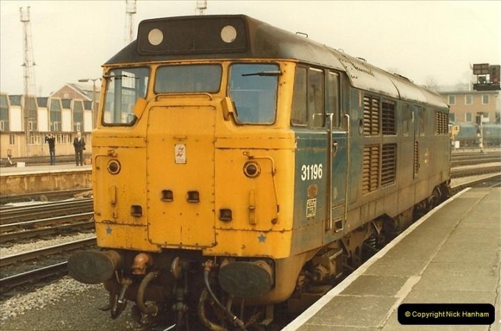 1982-03 26 to 27 Bristol Temple Meads, Bristol.  (26)0348