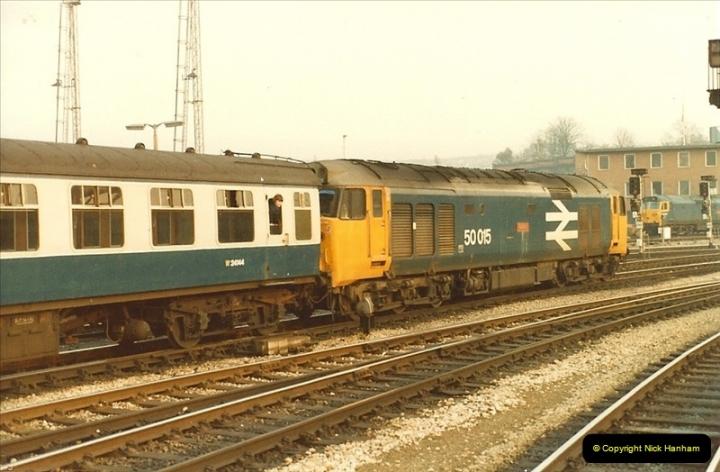 1982-03 26 to 27 Bristol Temple Meads, Bristol.  (27)0349