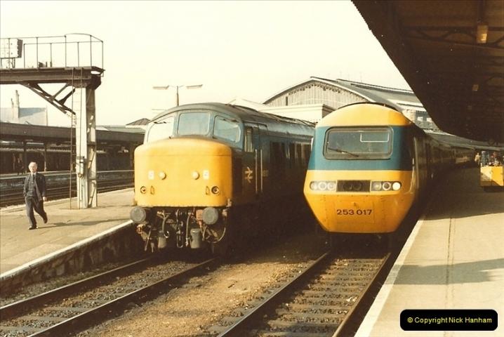 1982-03 26 to 27 Bristol Temple Meads, Bristol.  (4)0326