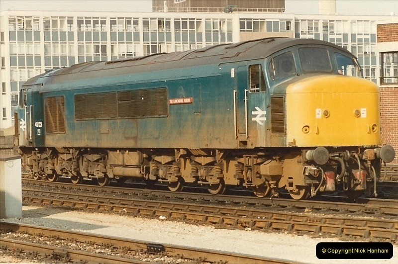 1982-03 26 to 27 Bristol Temple Meads, Bristol.  (5)0327