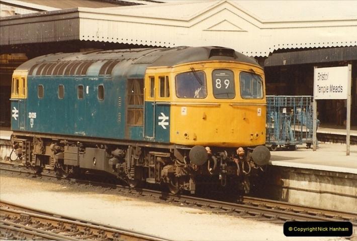 1982-04-23 Bristol Temple Meads, Bristol.  (7)0360