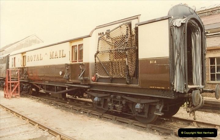 1982-04-25 Didcot Railway Centre, Didcot, Oxfordshire.  (19)0391
