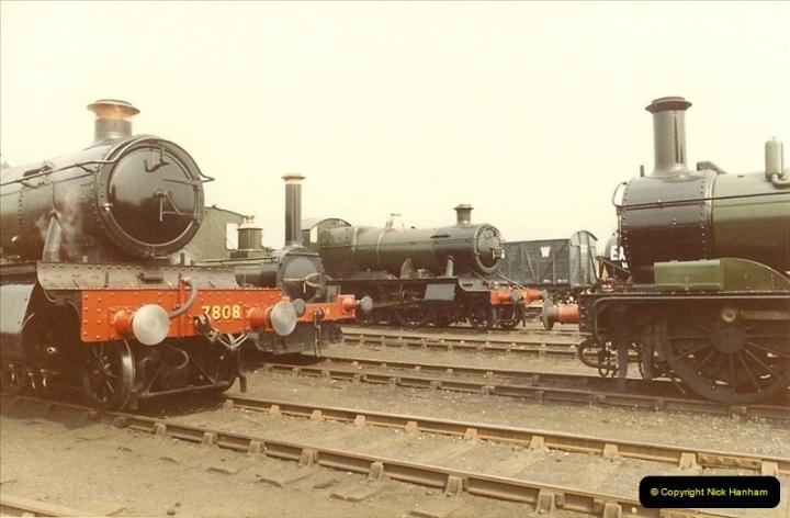 1982-04-25 Didcot Railway Centre, Didcot, Oxfordshire.  (2)0374