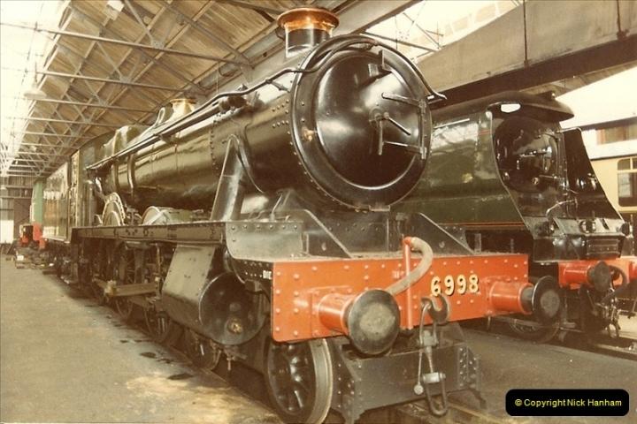 1982-04-25 Didcot Railway Centre, Didcot, Oxfordshire.  (6)0378