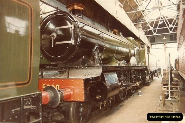 1982-04-25 Didcot Railway Centre, Didcot, Oxfordshire.  (7)0379