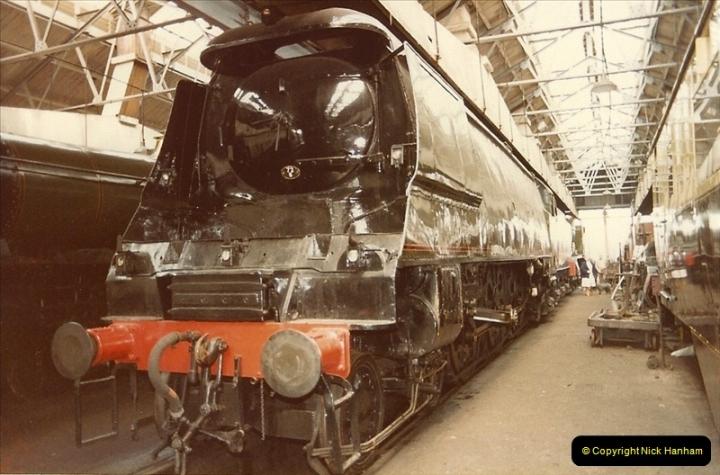 1982-04-25 Didcot Railway Centre, Didcot, Oxfordshire.  (8)0380