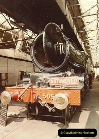 1982-04-25 Didcot Railway Centre, Didcot, Oxfordshire.  (9)0381