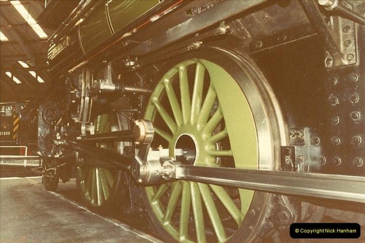 1982-09-05 National Railway Museum, York, Yorkshire.  (10)0427