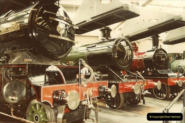 1982-09-05 National Railway Museum, York, Yorkshire.  (1)0418