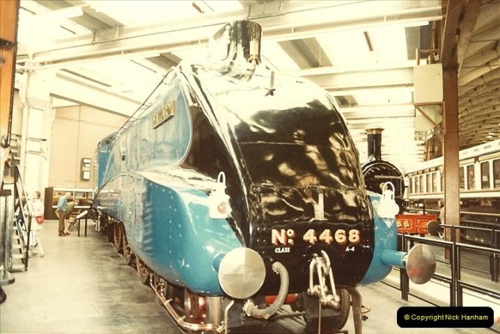 1982-09-05 National Railway Museum, York, Yorkshire.  (12)0429